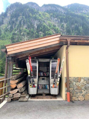 Galerie: Büchergondel Ginzling