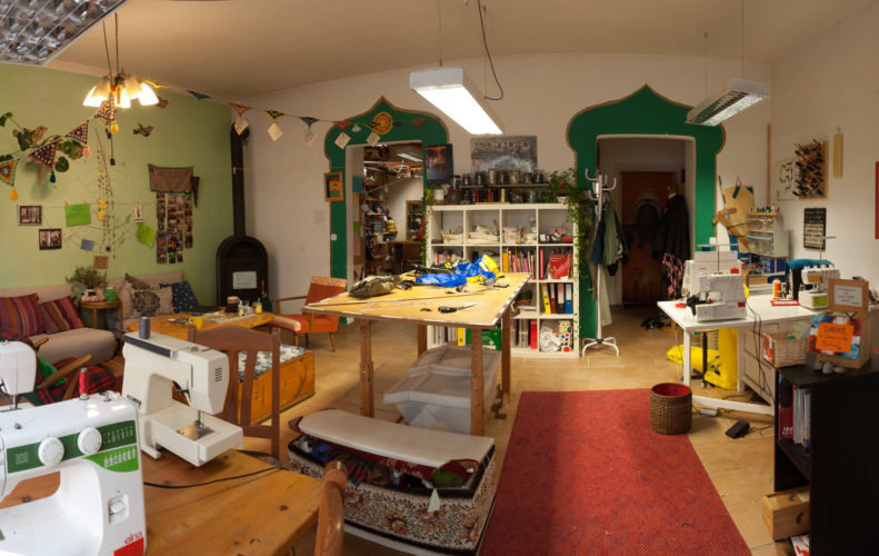 Galerie: Nadelöhr Nähcafé