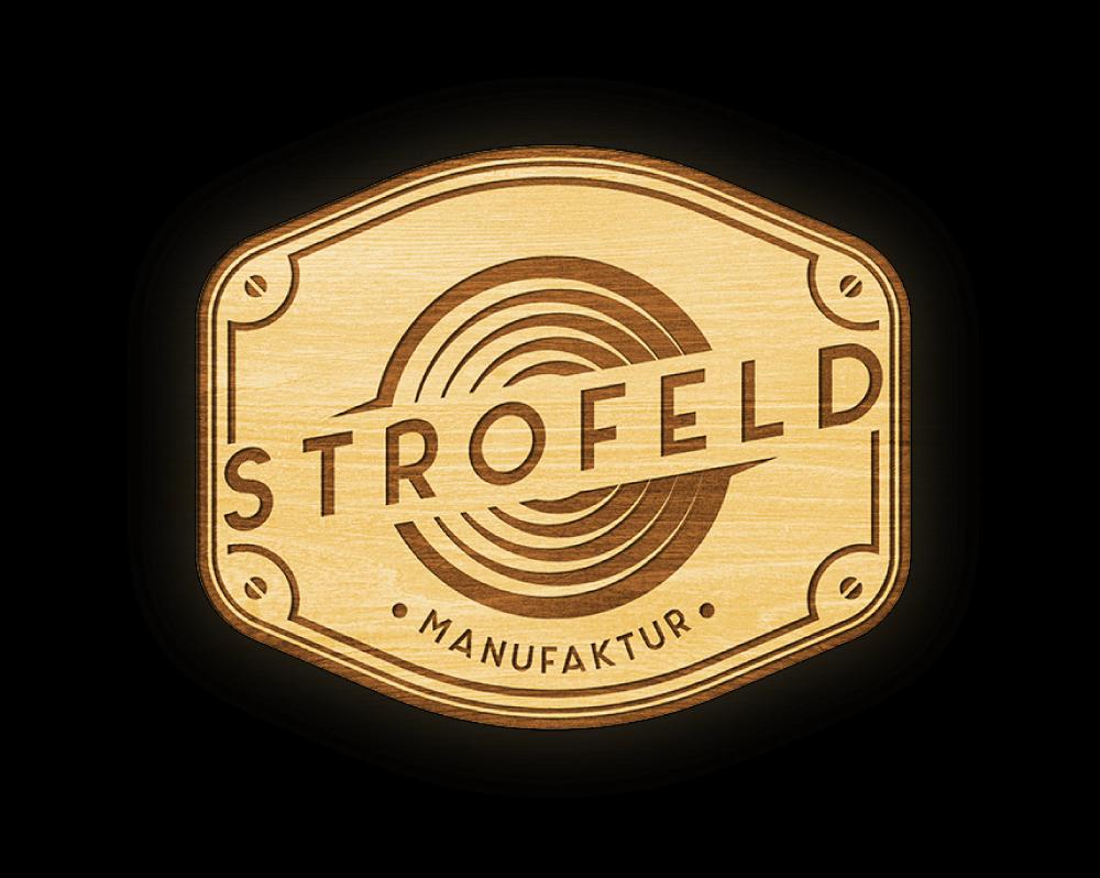 Logo: STROFELD Manufaktur - Einzigartige Lautsprecher