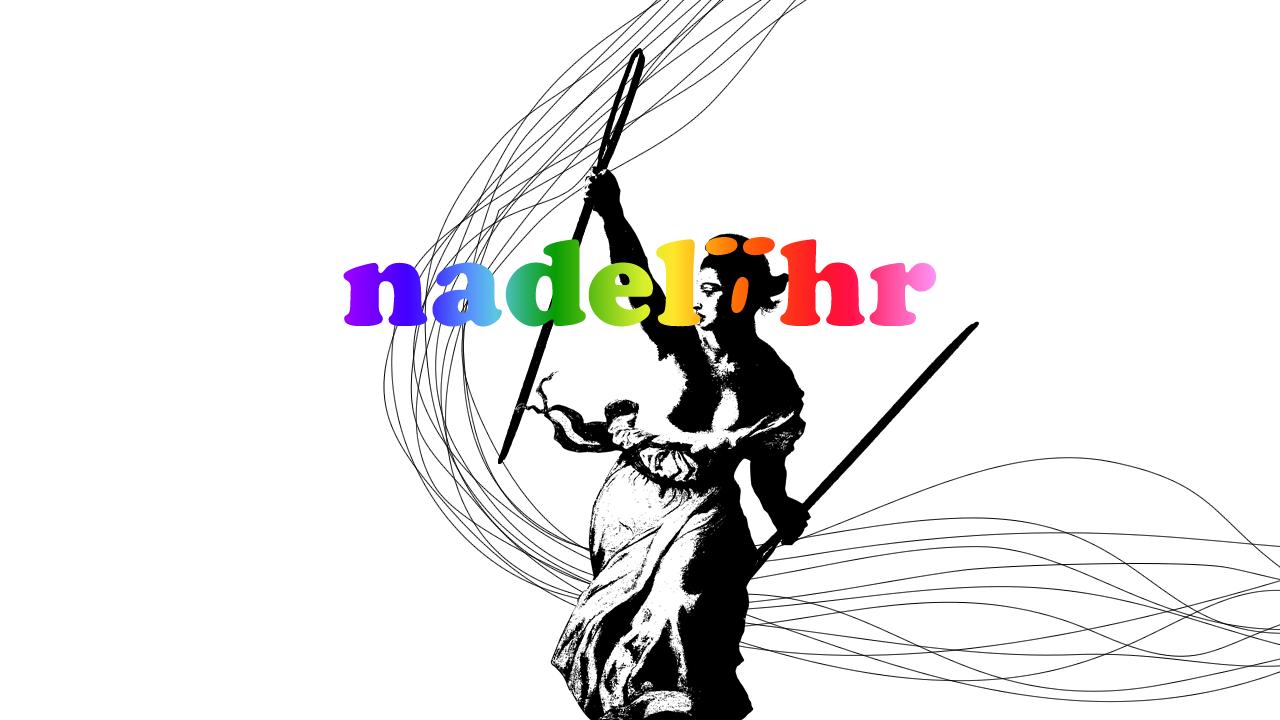 Logo: Nadelöhr Nähcafé