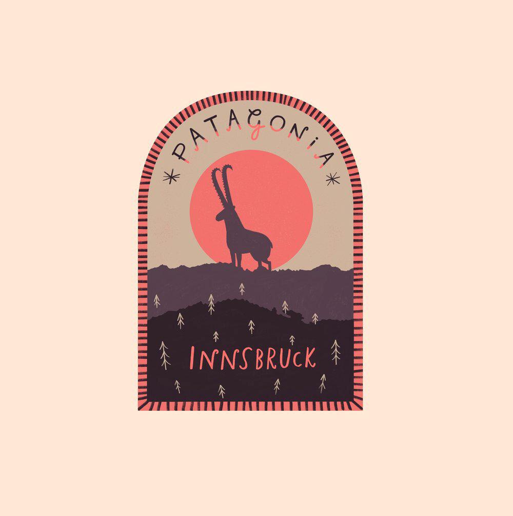 Logo: Patagonia Innsbruck